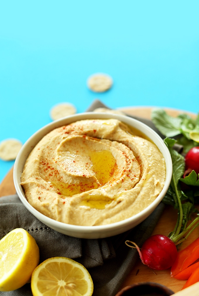 Recipe — Hummus from Chelsea Wedel