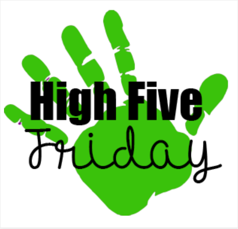 Fitness Challenge Friday High Five Message – October 8