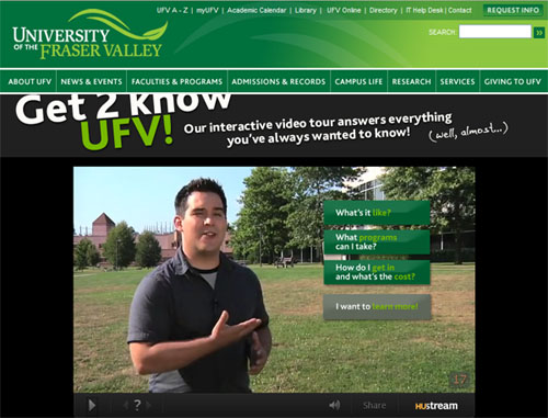Get 2 Know UFV screenshot
