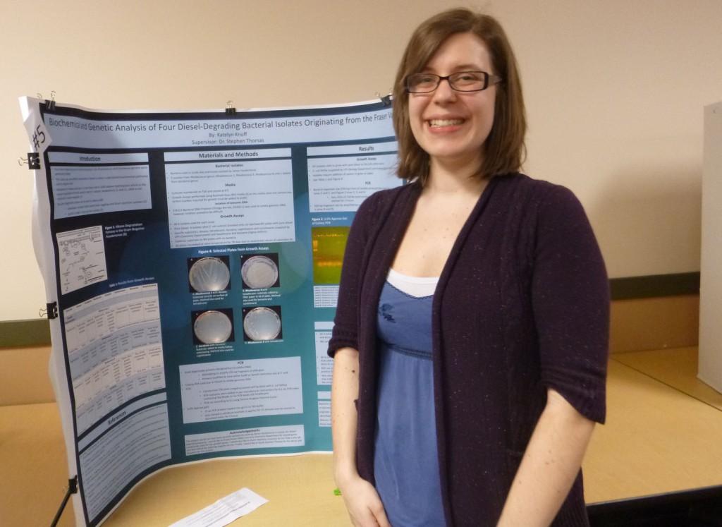 Kately Knuff UFV Student Research