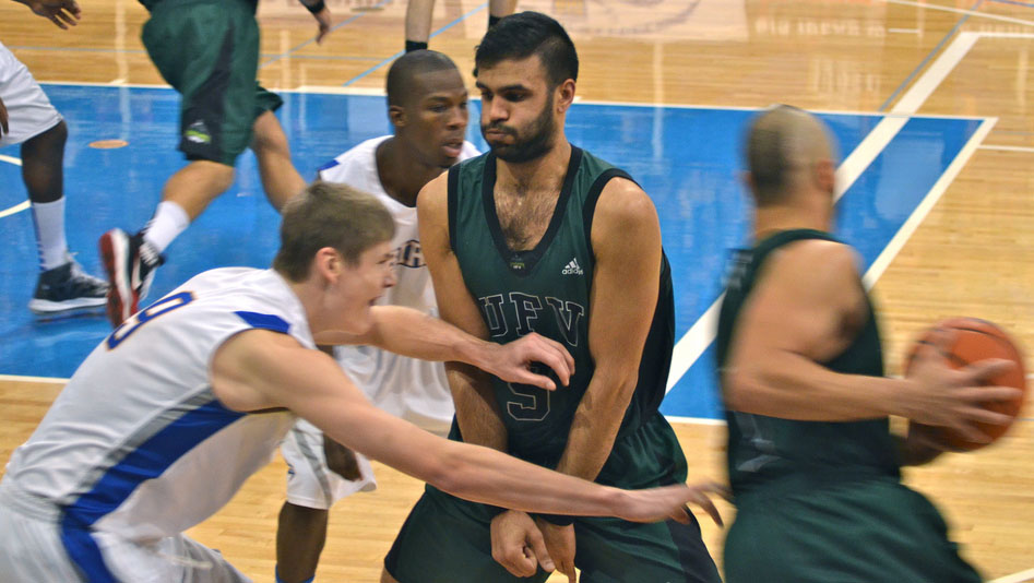 Kyle Grewal UFV Men's Basketball