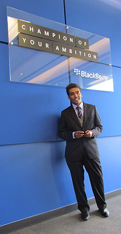 Richard Nair at BlackBerry