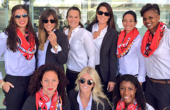 CanWNT in Peau de Loup suits