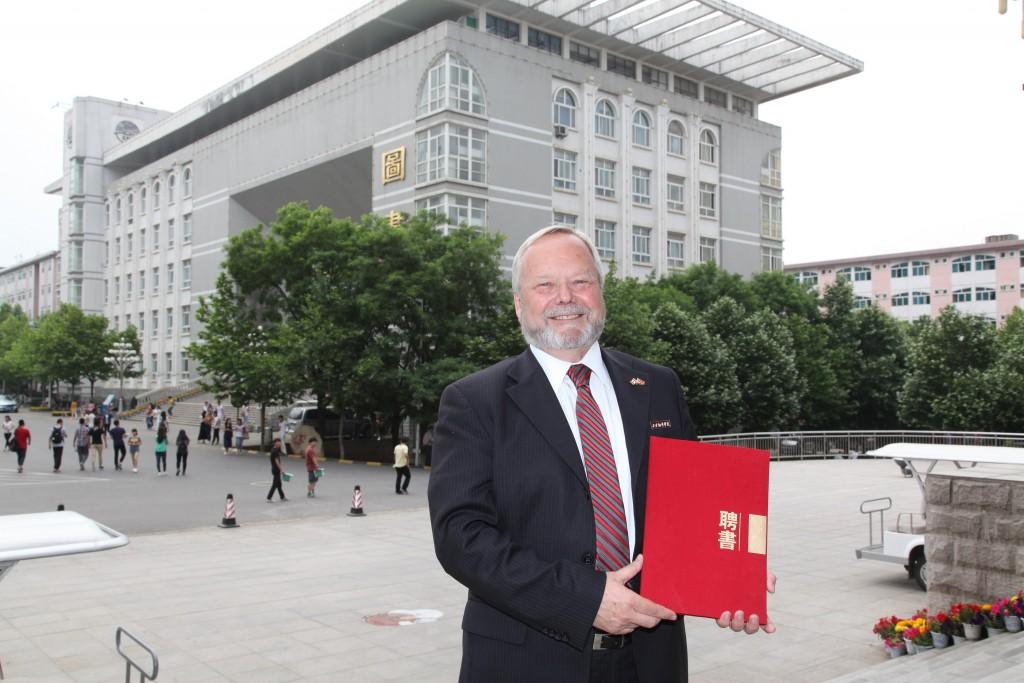Mark Evered in China XFU