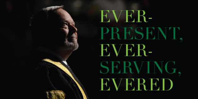 Ever-present, ever-serving Evered looks back on time at UFV