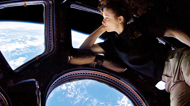 Think like an astronaut — Jelena Brcic's advice for those cooped up at home