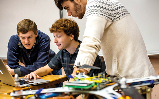 Applying a little physics — Mechatronics option adds experiential learning to science program