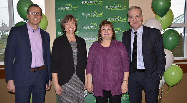UFV celebrates 2018 long-service employees