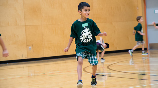 Campus Rec day camps combine fun, health, and fitness