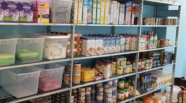 Food bank re-established at UFV