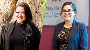 Legal Administrative Assistants, Melissa Solomon and Pawanpreet Gill