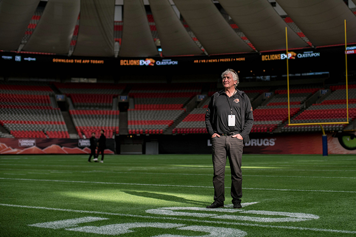 Roger Friesen brings mental muscle to BC Lions