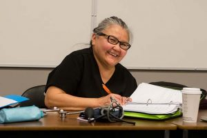 Shirlana Julian, medical office assistant with Matsqui First Nation