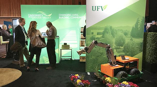 BCTECH Summit 2019: UFV's weed-blasting robot and phantom lung on display