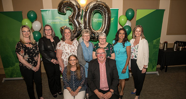 UFV celebrates 2019 long-service employees