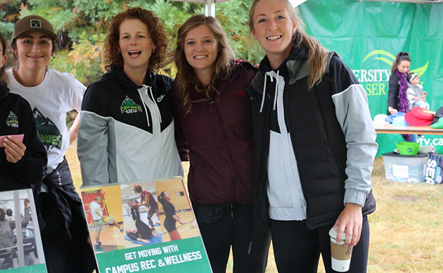 Get fit with UFV Campus Rec! Try-before-you-buy Sept 16-20
