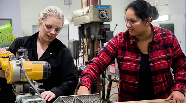 Needed: women in trades