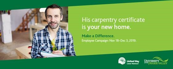 Make a Difference at UFV