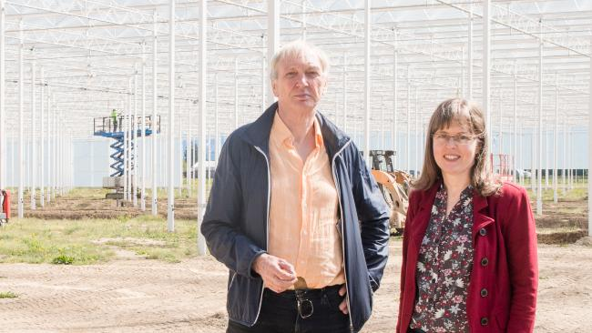 Peter Reus and Leah Peck, Prins Greenhouses