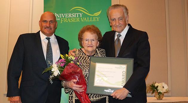 Redekop's dedication to volunteer fundraising recognized with Betty Urquhart award