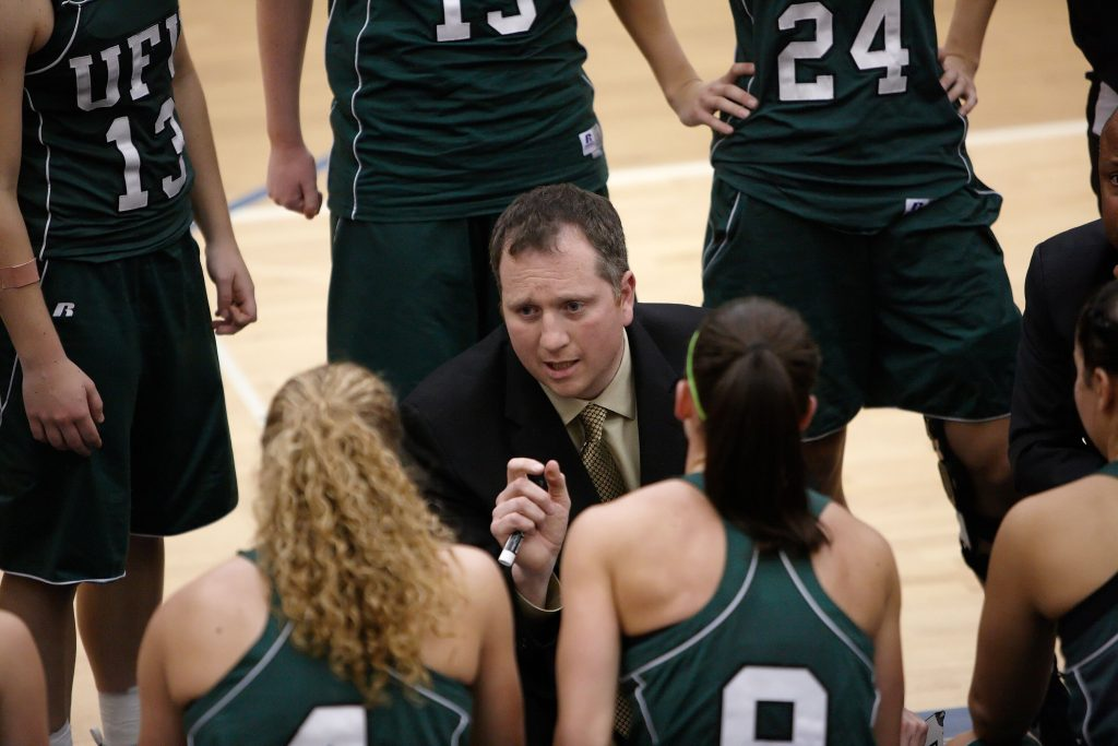 Staff Excellence: Family connections make life at UFV special for basketball coach Tuchscherer
