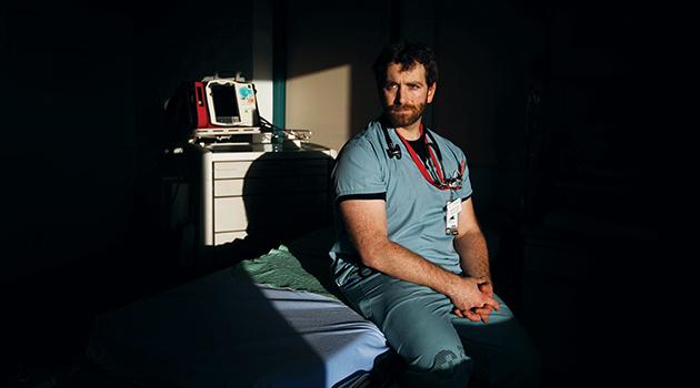 Passion  Ignited — mentors guided Matt Douma from rebel to ER nursing career