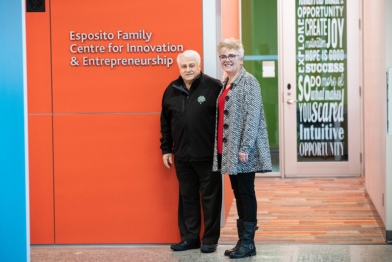 UFV launches Esposito Family Centre for Innovation & Entrepreneurship