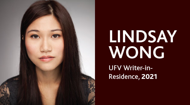 Want to get published? Find out how at UFV workshop with author Lindsay Wong