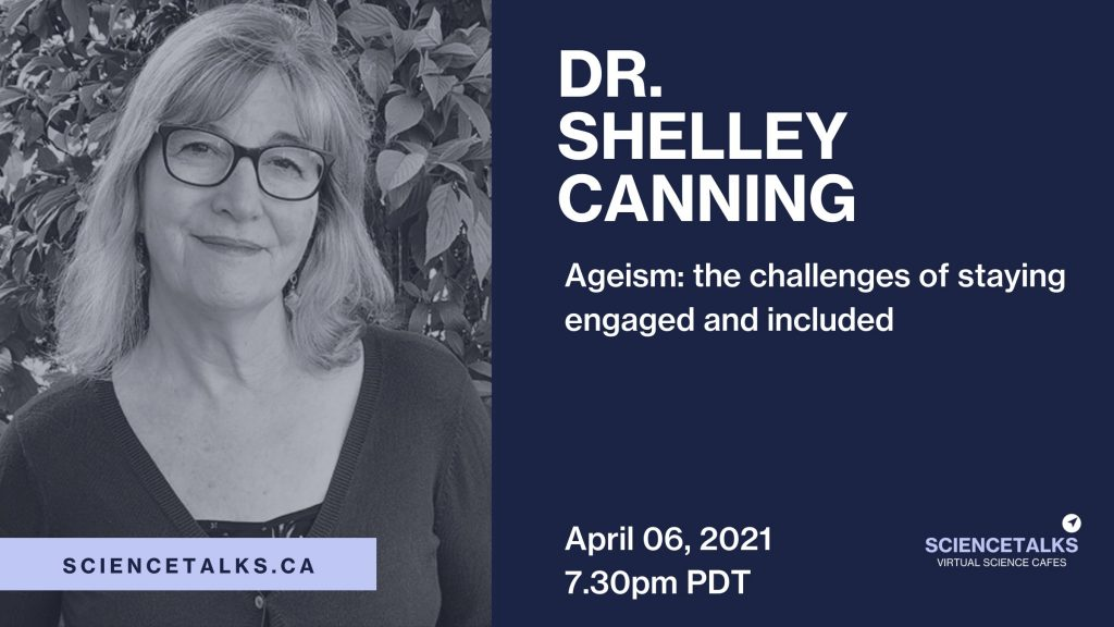 Canning aims to enhance engagement with the elderly— Science Talks lecture April 6