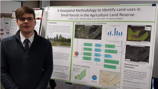 Digital mapping research position led to career job for Lyndon Hunter