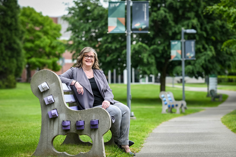 Leadership award 2021: Nicole Adams provided smiles and accounting excellence to UFV in uncertain year