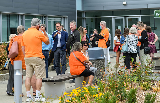 After a decade, the beloved Shakespeare Garden returns to UFV with an expanded purpose