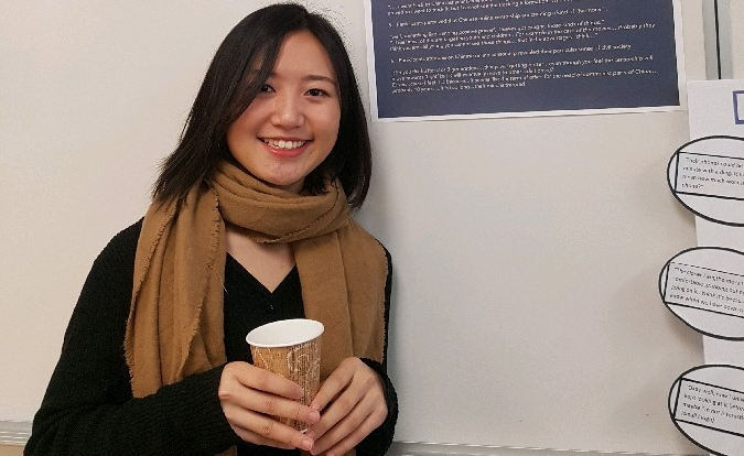 Research opportunities led to graduate school acceptance for first-generation student RuoYu Xiao