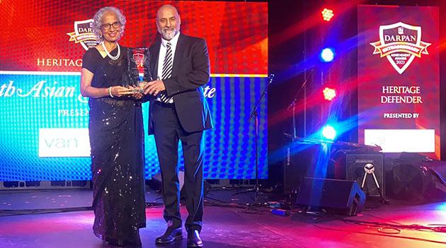 South Asian Studies Institute receives Heritage Defender award